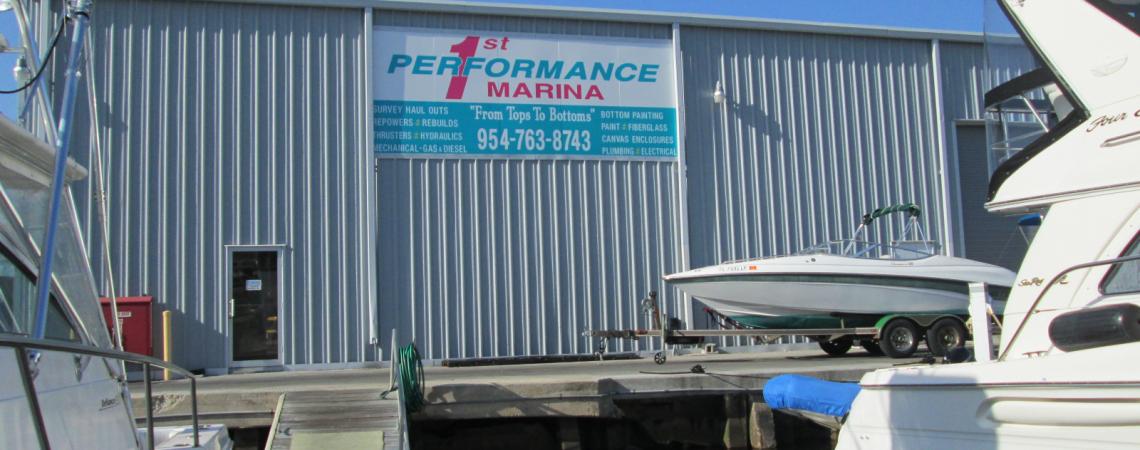 South Florida's Premiere Boat Yard