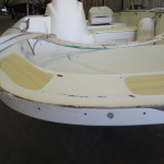 Fiberglass / Gelcoat Repair - In Process
